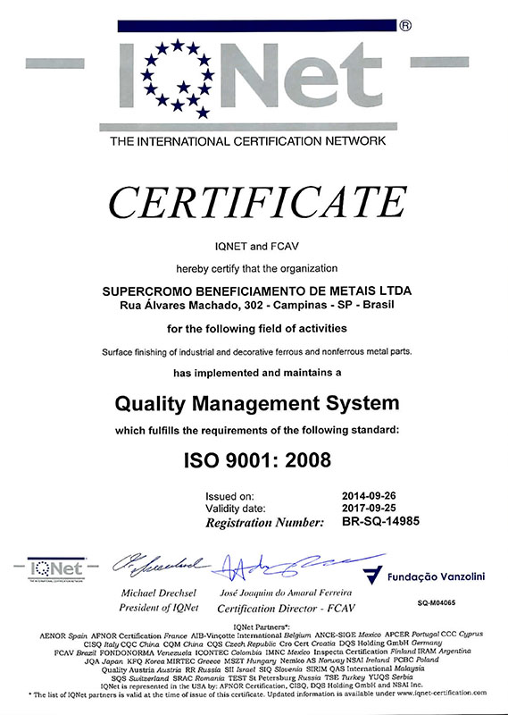CERTIFICADO SUPERCROMO 03